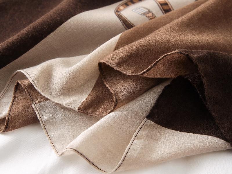 Brand Cotton Scarf Luxury Women Large Shawls Pashmina Hijab Foulard Echarpe Design Print Lady Beach Stole
