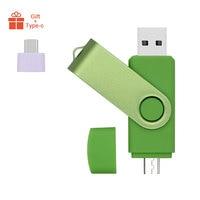 Green OTG USB 2.0