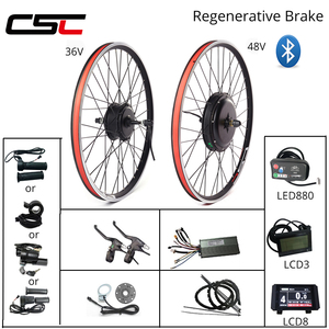 eBIKE Conversion Kit 20-29 inch 700C Electric Bicycle Conversion Kit 48V 1000W 1500W 36V 250W 500W Front Rear Hub Motor Wheel(China)