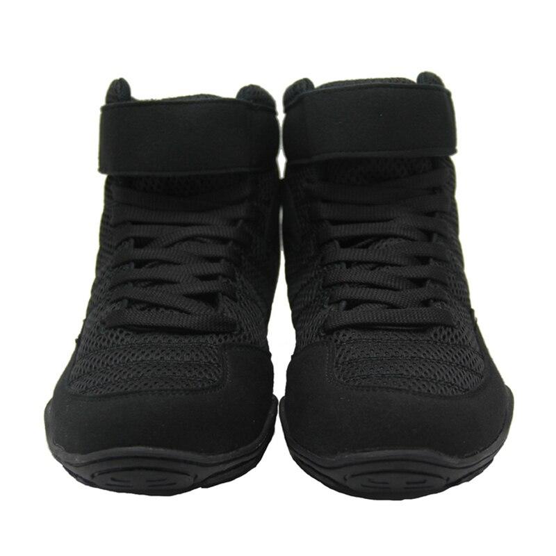 Аутентичные борцовские ботинки для мужчин, тренировочная обувь, мышечная подошва, Нескользящие кроссовки, Профессиональная Мужская боксерская обувь