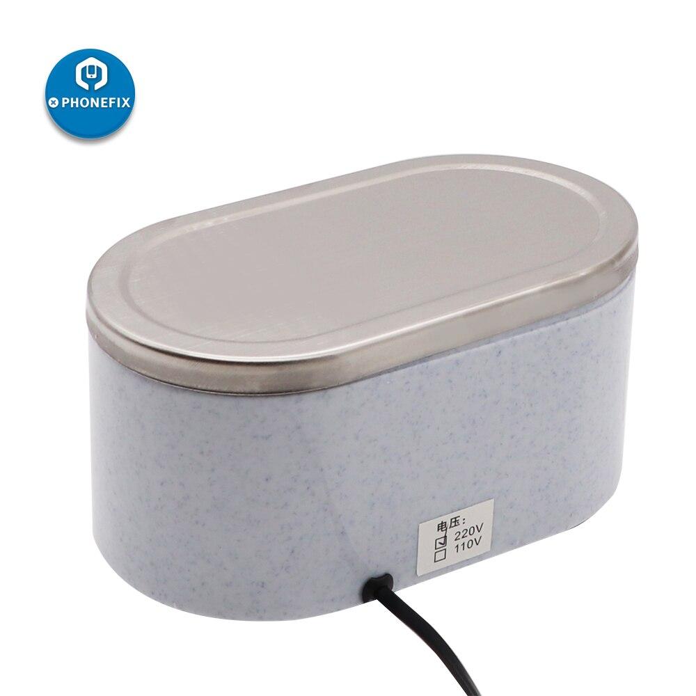 Tools : DA-968 600ml Mini Ultrasonic Cleaner Bath for Cleaning Circuit Board Glasses Jewelry 30 50W Ultrasonic Cleaning Machine