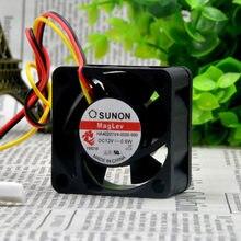 Sunon/Sunon HA40201V4-0000-999 12V 0.6W 4020 3-Draad Mute Koelventilator