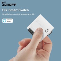 SONOFF MINI Wifi DIY Smart Switch Two Way Wiring Smart Home Automation Modules Compatible with eWelink Alexa amazon Google Home