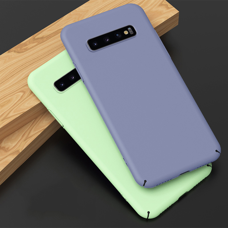 Slim Hard PC Case For Samsung galaxy A51 A71 Case Matte Armor Plastic Back Cover For Note 10 lite S10 lite S20 Ultra A31 M31 M21