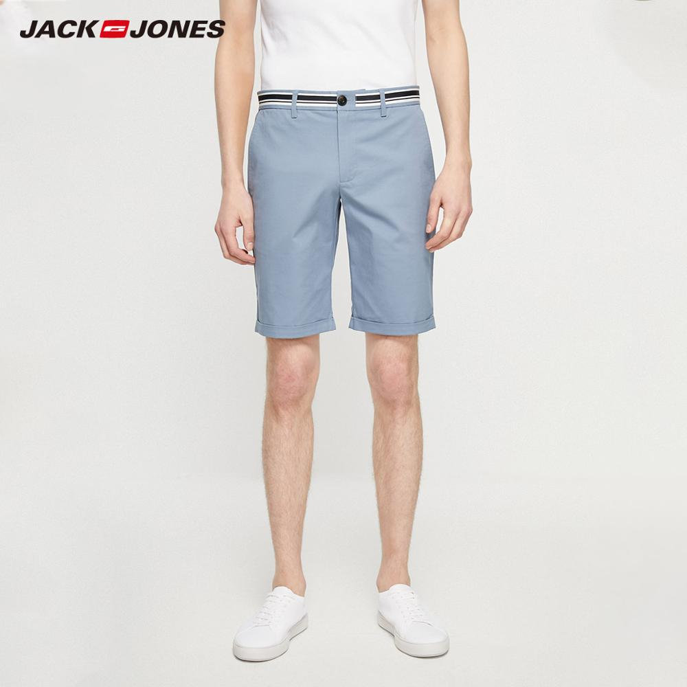 JackJones Men's Fashion Comfortable Stretch Cotton Shorts Basic Menswear| 219215510