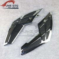 Motorcycle Gas Tank Door decorative cover for HONDA Goldwing GL1800 2001 2011 Decoration Parts Accessories Chrom