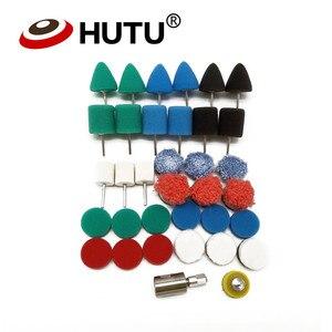 Image 4 - Mini Kit di Lucidatura Per La Macchina di Bellezza Detailing Lucidatore Extention Strumenti di Auto Tampone Lucidatura Kit Per Il Rotary Lucidatore