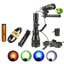 CrazyFire Tactical LED Flashlight 1000lm Super Bright Long R