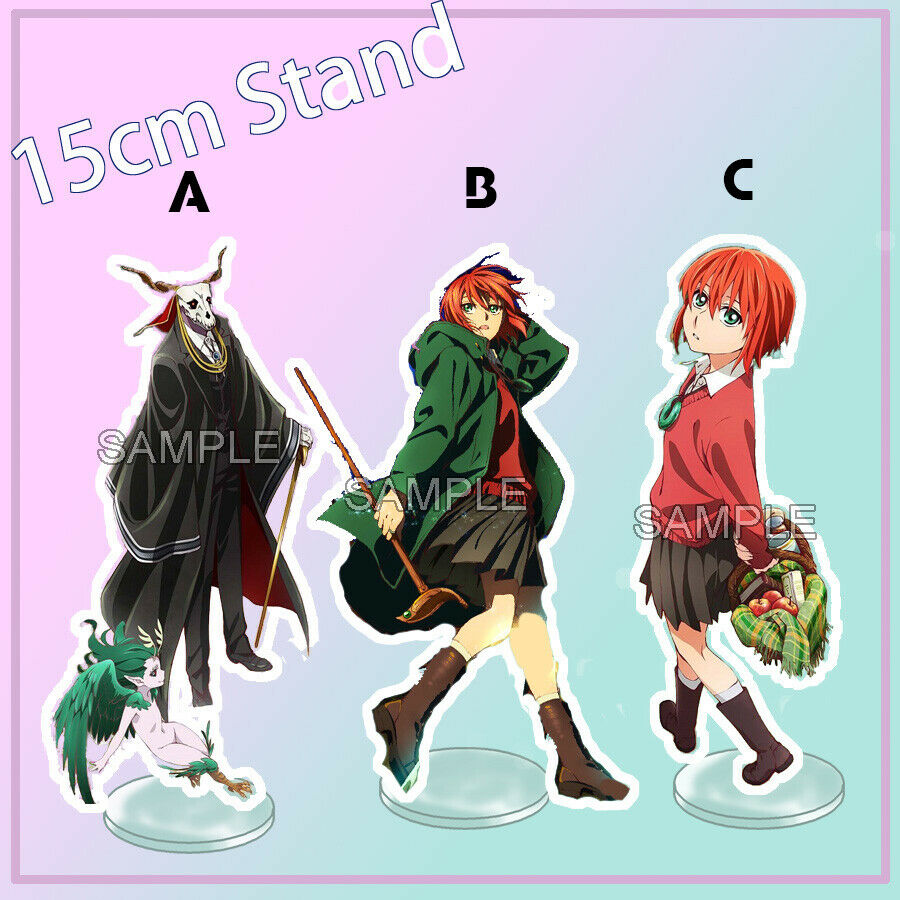 Acrylic Stand Figure Display Ancient Magus' Bride Ainsworth Elias Chise 15cm