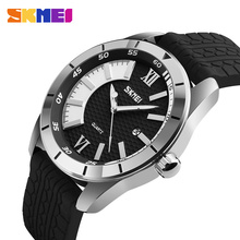 SKMEI Fashion Sport Mens Watches Top Brand Luxury Men Watch 3Bar Waterproof Quartz Wristwatches relogio masculino 9151