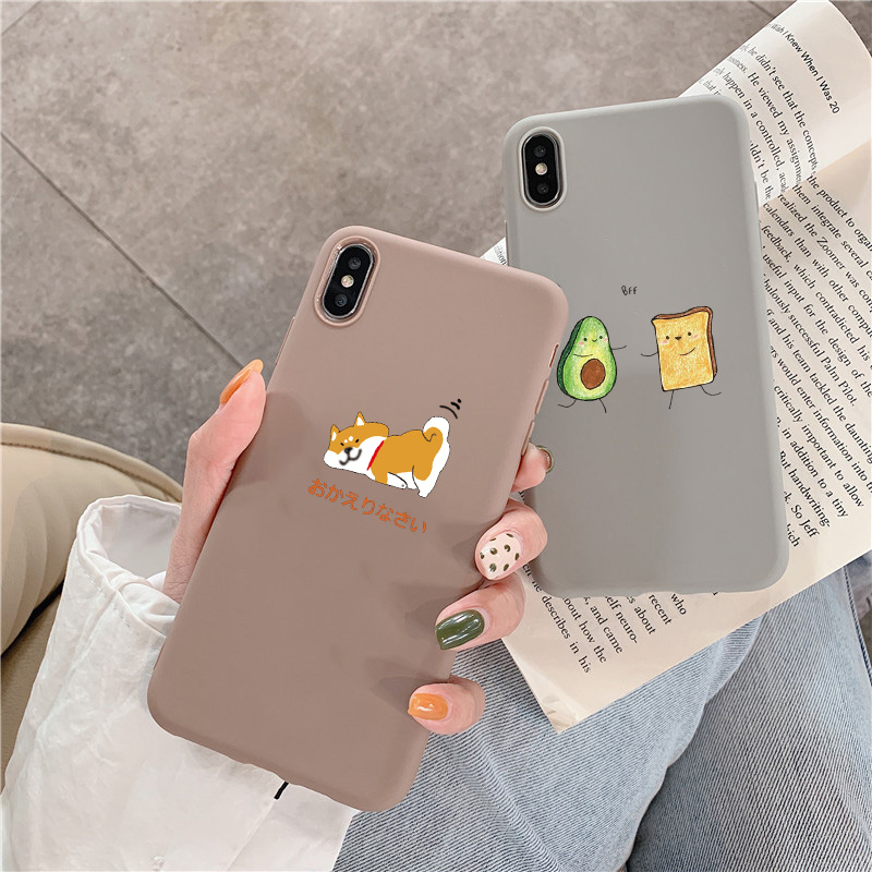 Lovely TPU Case For Samsung Galaxy S10e S10 Plus J8 S7 S6 Edge J7 J5 2015 J2 Grand Prime J6 J4 Plus 2018 2017 S9 S8 Plus J3 2016 image