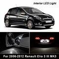 8 шт. x без ошибок для 2013-2017 Renault Clio 4 IV MK4 хэтчбек Grandtour Estate светодиодный светильник для чтения интерьера