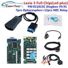 Diagnostic-Tool Lexia 3 Lexia3 V9.68 PP2000 V48/V25 With Firmware 921815C Lexia 3 For Citr-oen For Pe-ugeot OBDII Auto Diagbox