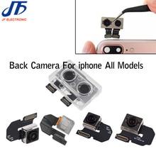 5 Chiếc Lưng Phía Sau Cho iPhone 6 iPhone 6P 6S 6SP 7 7G 8 8 Plus X inch Camera Lớn Cáp Mềm Nơ Thay Thế Sửa Chữa Một Phần