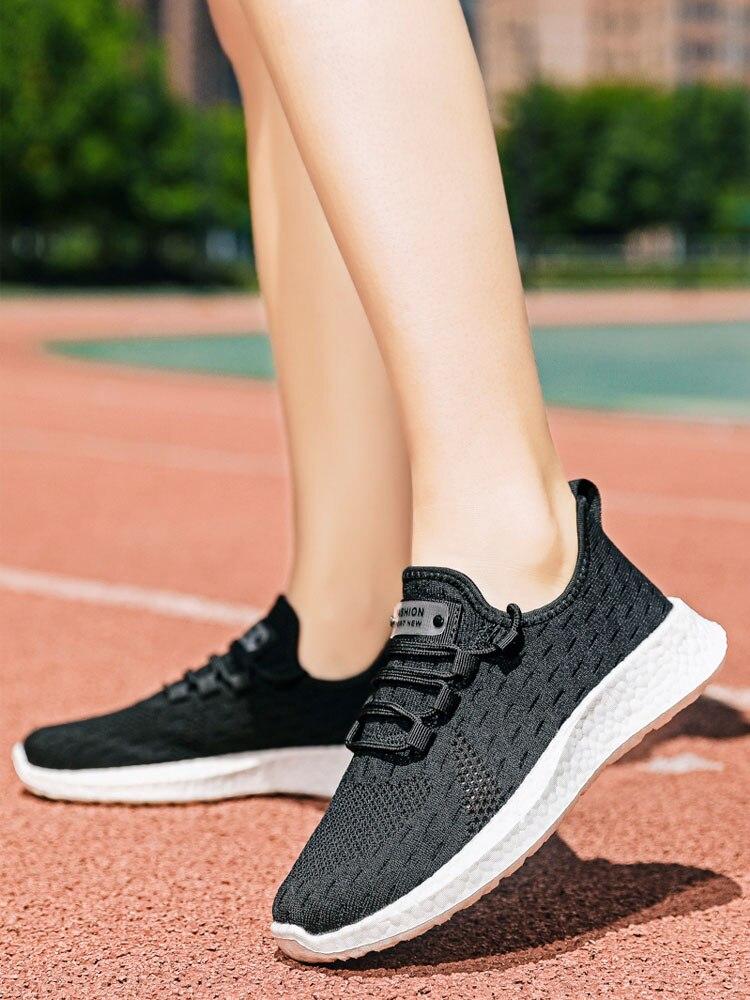Sneakers Women Shoes Tenis Platform Feminino White Breathable Dames Casual Ladies New