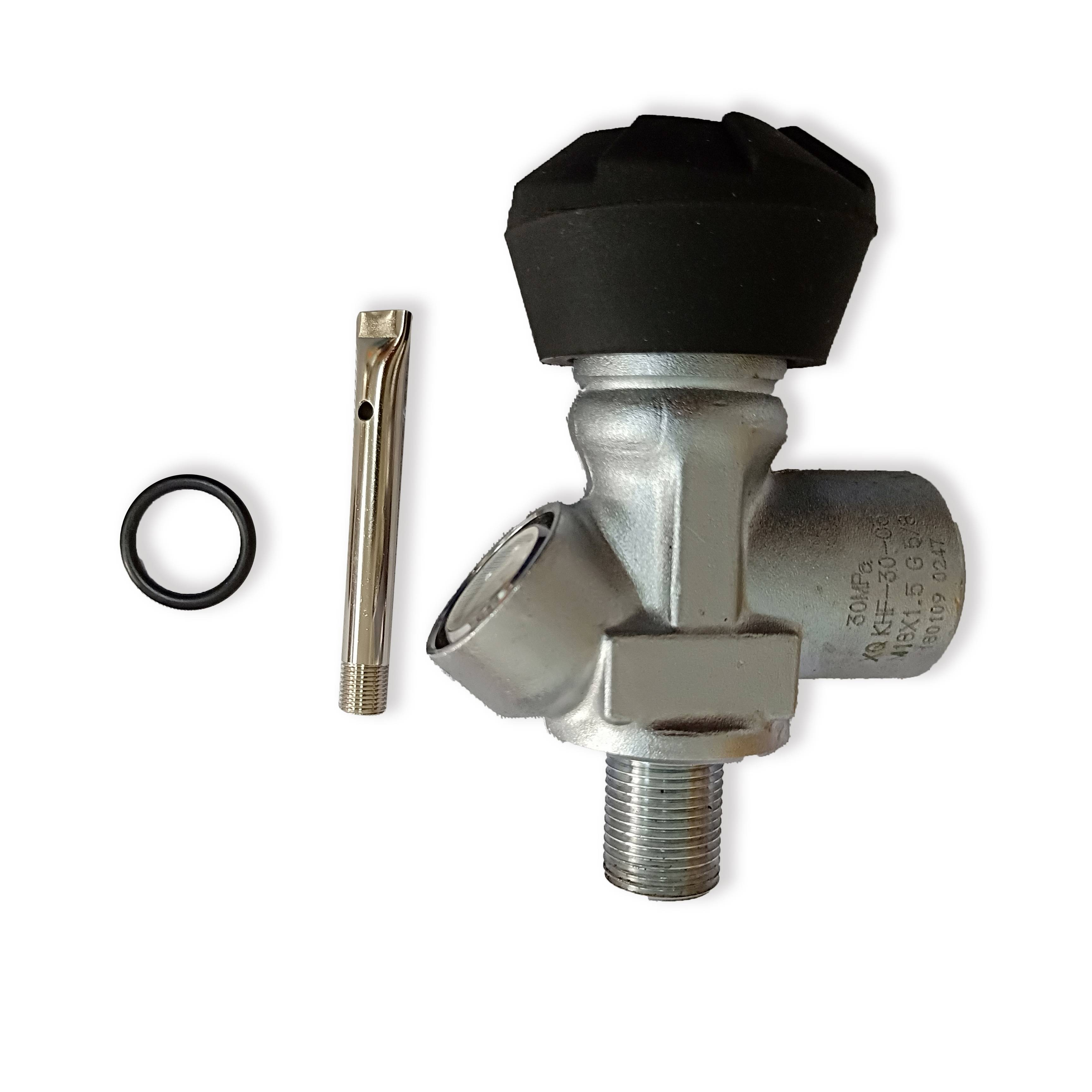 AC931 Acecare Valve For Scuba Tank High Pressure Cylinder Pcp Air Tank Compressed Air Carbon Fiber Tank Airforce Condor 4500psi