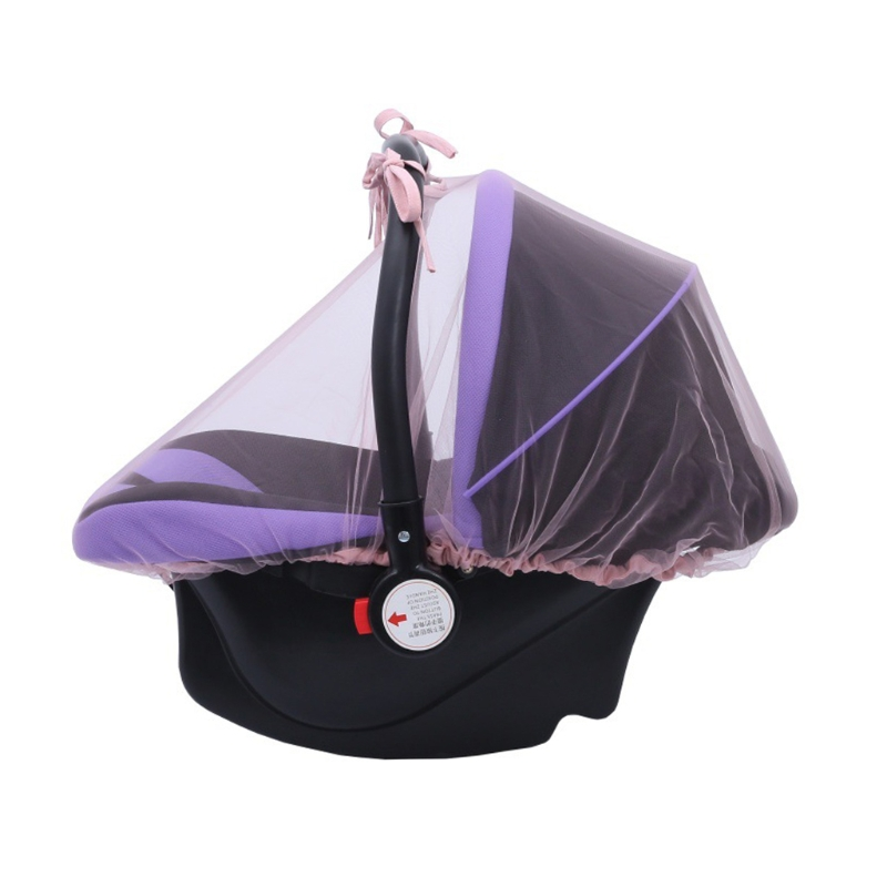 Baby Carriers Car Seats Cover Infant Mosquito Net Bug Insect Protector Netting DXAD