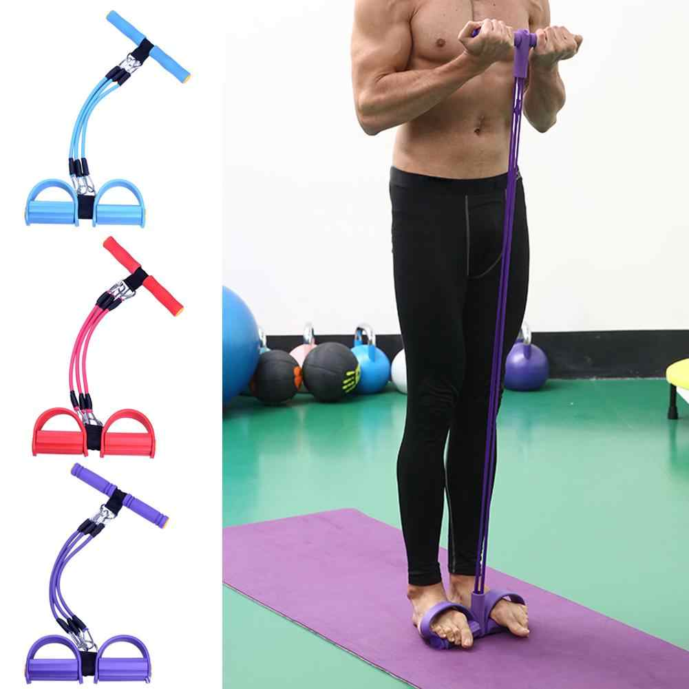 Soft Home Gym Equipments 3 Tube Elastic Sit Up Pull Rope Fashionable Fitness  Resistance Band Indoor Fitness Accessories| | - AliExpress