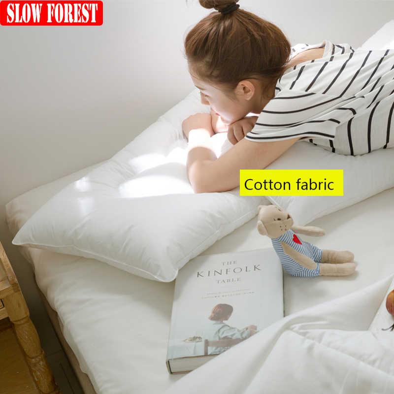 thin flat bed pillows online