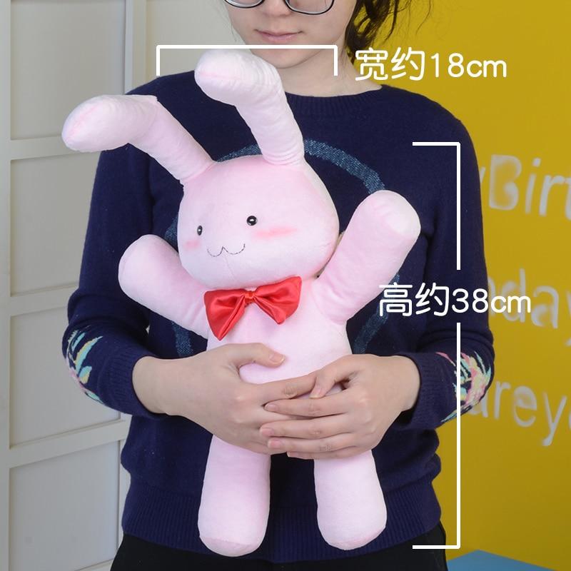 Anime Ouran High School Host Club Honey Pink Rabbit Stuffed Doll Plush Toy Gift