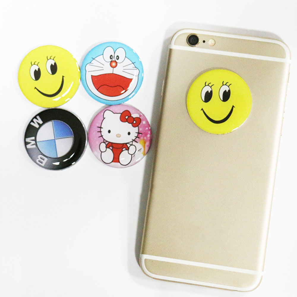 RFID 125Khz T5577 EM4305 Stickers Writable Anti Metal Interference Copy Tags Proximity Cards Label For Mobile Phone