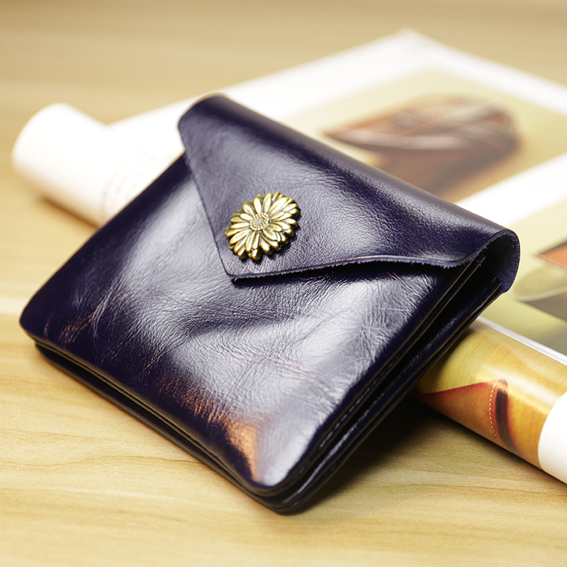 SIKU Men's Leather Coin Purses Holders Fashion Women Wallet Case Mini  Wallet Card Holder