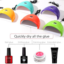 Make-up Nagel Trockner Für Nagel Led Uv Lampe Maniküre Licht Maschine 36w Mini Usb Power Nagel Lampe Trocknen Für gel Lack Maniküre Werkzeuge(China)