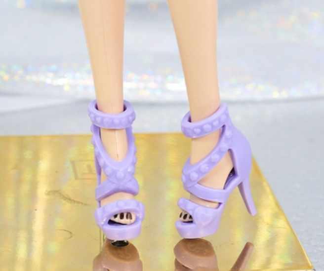 Yeni stiller bebek sarı mor mavi ayakkabı botları BB 1:6 bebek BBIA101