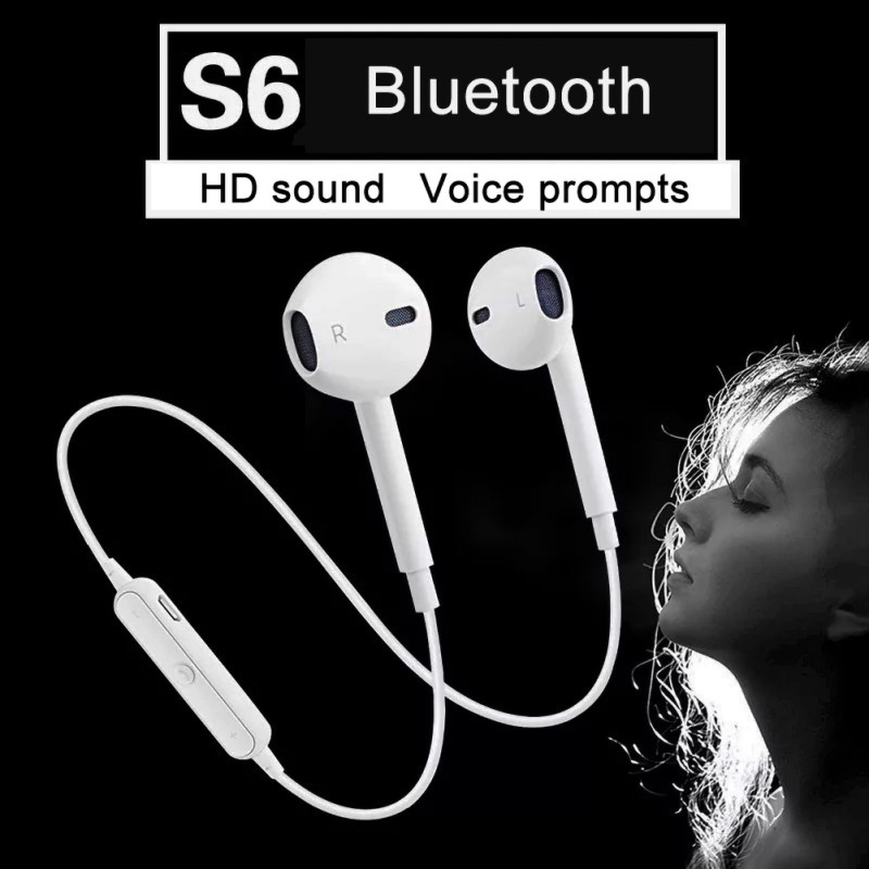 NEW Bluetooth Earphone Sport Running Wireless Neckband Headset Headest with Mic Stereo Music For All Smart Phone Earbuds Headset image