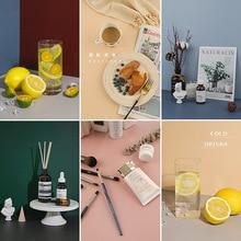 Hot Sale Morandi Color INS Photography Board Backdrops Paper Studio Photo Shooting Props Fotografia Background Decorations Items