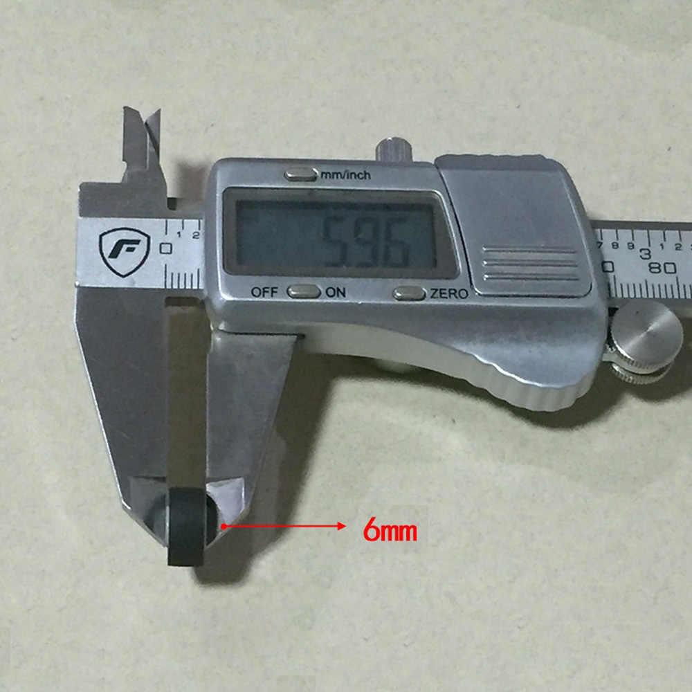 Polia audio da correia do assento do cartão do rolo da pitada de pressão 1.8mm * 5mm * 11.5mm núcleo branco axi gravador de fita amplificadores walkman roda da polia