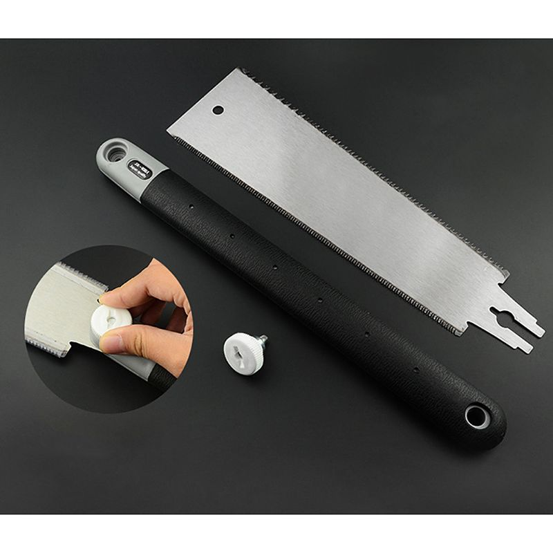 Double Edge Razor Saw Japanese Style Pull Saw Teeth Per Precision Hand Saw For Tenon Woodworking Tools C6UE