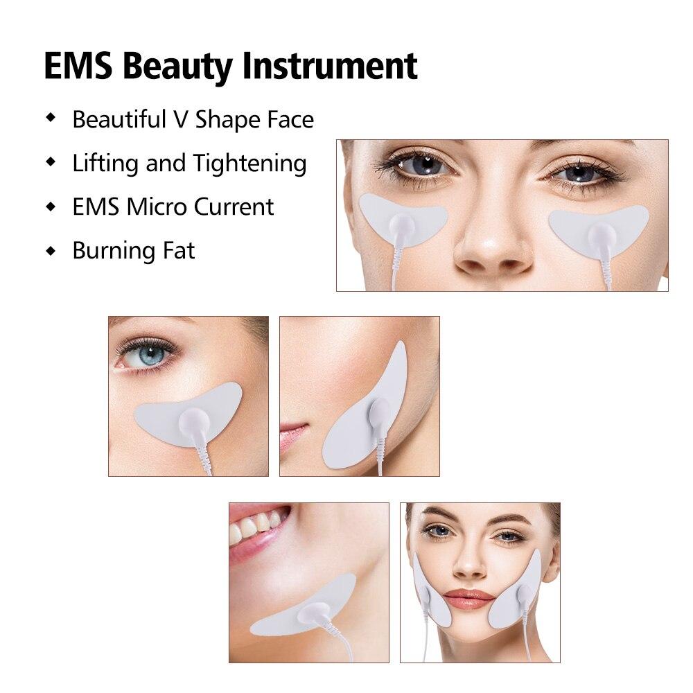 EMS stimulateur musculaire du visage