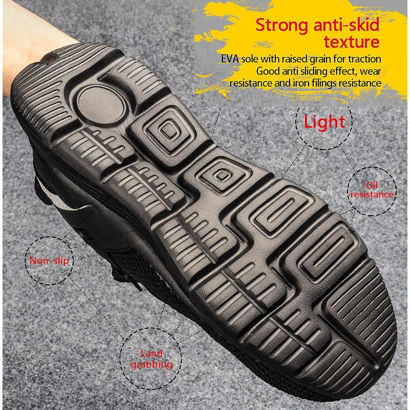 Drop Shippingรองเท้าผ้าใบSTEEL TOE CAPทำงานผู้หญิงผู้ชายความปลอดภัยรองเท้ากลางแจ้งROXDIAยี่ห้อRXM170 PLUSขนาด 37-48