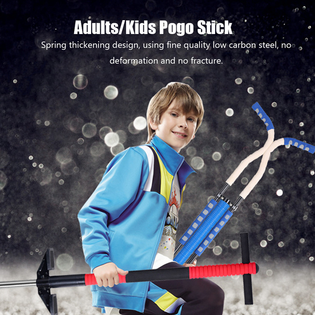 stainless steel outdoor games toys sport double hand Pogo stick/Pogo jump stick spring jump stilts load of 90kg 5