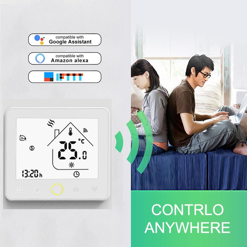 H9a7f4745ff4846b6ab9d0e2d7de3412fh - Smart Wifi Thermostat for Lamps Fan Water Dispenser Water Heater Electric Pot TV Humidifier Light Boiler Wifi Switch Smart Home