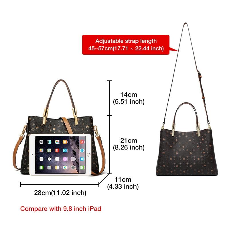 FOXER Layla Business Lady Elegant Handbag Black