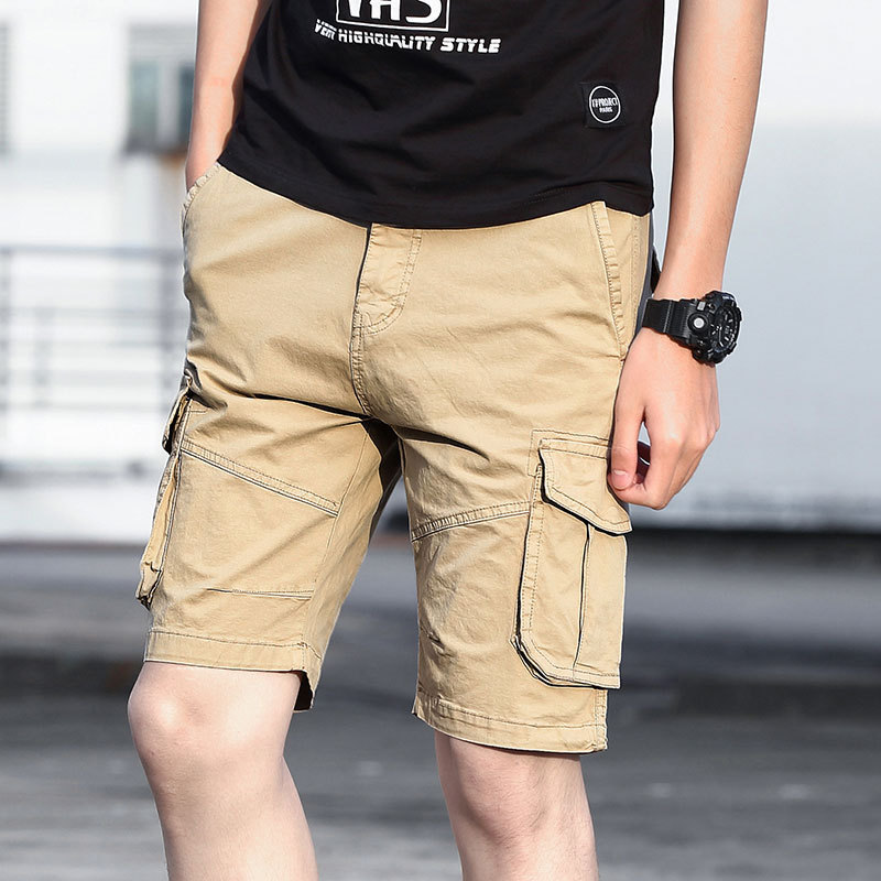 Mens Fashion Jeans Shorts Classic Casual Pants Denim Shorts Beach Work Fisherman Pants Trouser Plus Size L-6XL