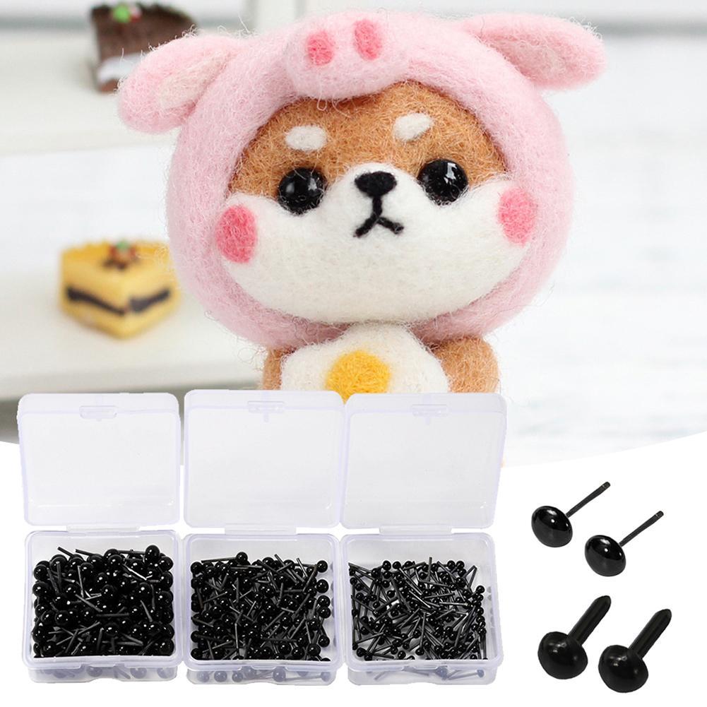 500pcs Plastic Toy Eyes Eyeball For Doll Eyes Toys Dolls Eyes Accessories Funny Hand Make DIY Eyeball Toys