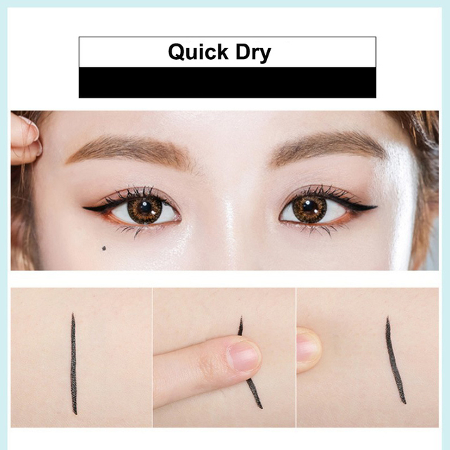 Eye Makeup Waterproof Neon Colorful Liquid Eyeliner Pen Make Up Cosmetics Long-lasting Black Eye Liner Pencil Makeup Tools 2