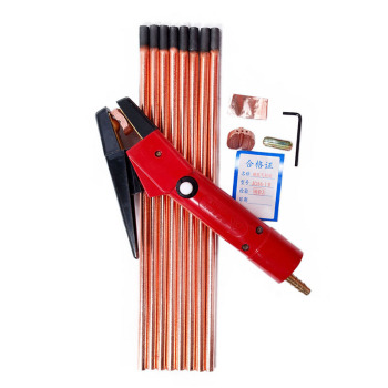 5pcs New Air Carbon Arc Gouging Rods Copper Round Graphite Electrode Rod For DC Gas Gouging Gun Electrode Carbon Rod 4-12mm 5pcs black carbon rod graphite rods 99 99% graphite electrode cylinder rods bars 100x10mm for industry tools