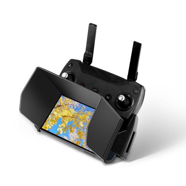 썬 후드 그늘 전화 태블릿 모니터 DJI Mavic 프로 미니 에어 스파크 Mavic2 드론 컨트롤러 양산 접이식 후드 부품