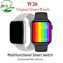 W26 44Mm Horloge 6 Thermometer Ecg Hartslagmeter Temperatuur Smartwatch 2020 Nieuwe Originele Voor Apple Pk P8 W56 w46 W34 LS05 X3