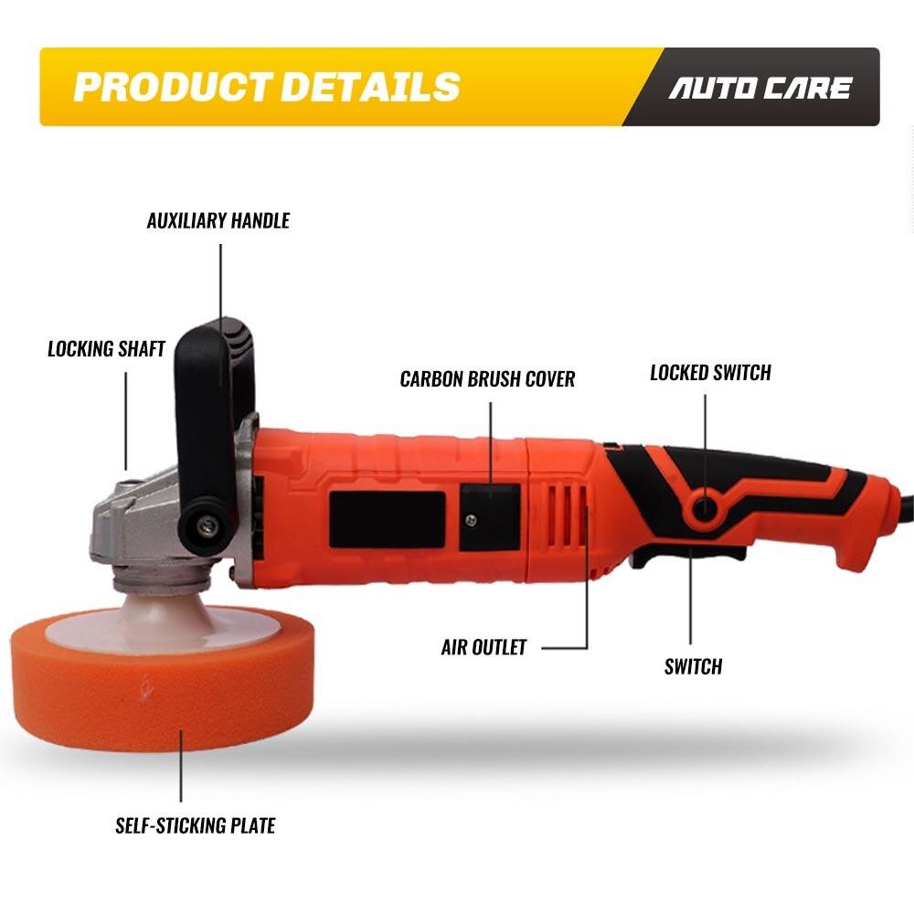 220V 110V 3000rpm Elektrische Auto Polierer Maschine Auto Polieren Maschine Schleifen Wachsen Power Werkzeuge Auto Zubehör