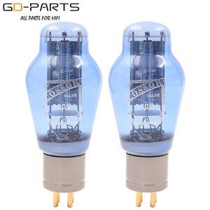 Image 1 - Вакуумные трубки PSVANE COSSOR 300B, сетчатая пластина, винтажная HIFI аудио трубка, усилитель, сделай сам, синяя лампа, алюминиевая трубка, базовая заводская, тестовая пара