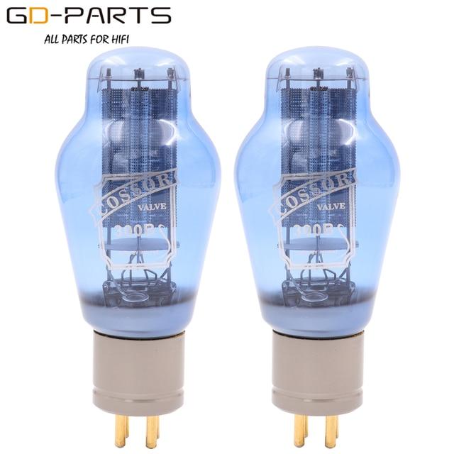 Вакуумные трубки PSVANE COSSOR 300B, сетчатая пластина, винтажная HIFI аудио трубка, усилитель, сделай сам, синяя лампа, алюминиевая трубка, базовая заводская, тестовая пара