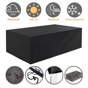 40 Size Outdoor Furniture Covers Waterproof Rain Snow Dust Wind-Proof Anti-UV Oxford Fabric Garden Lawn Patio Furniture Covers
