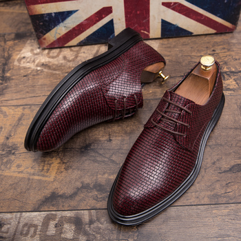 Mens Shoes Casual Luxury Leather Shoes Male Comfortable Dress Shoes Fashion Leisure Walk Formal Shoes Prom Evening Long Dresses 3