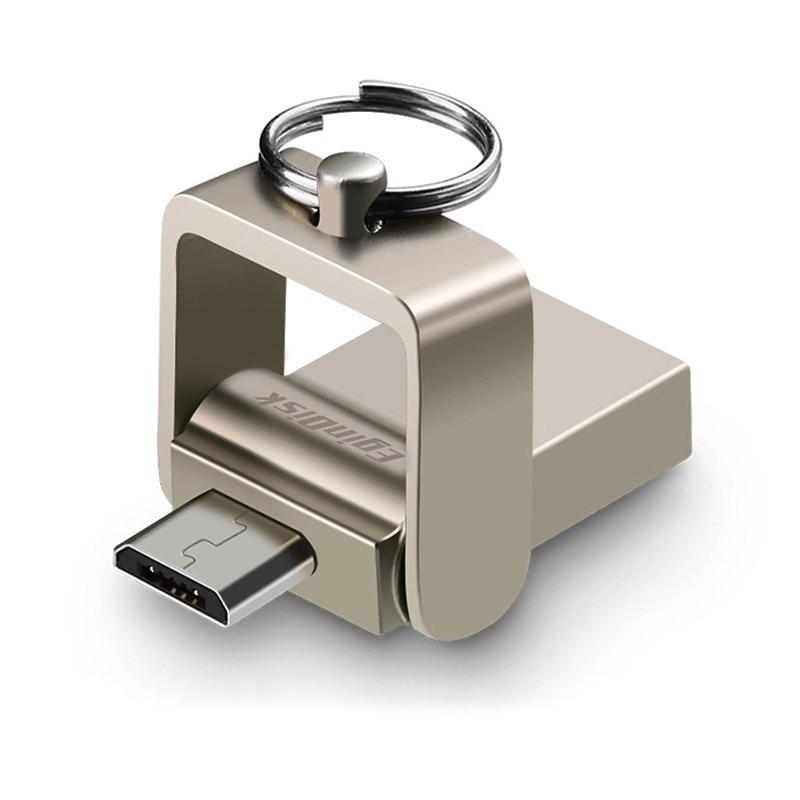 Dual Drive OTG Usb Flash Drive with TYPE C / Micro USB / USB 128GB 64GB 32GB 16GB Pendrive For Android Phone
