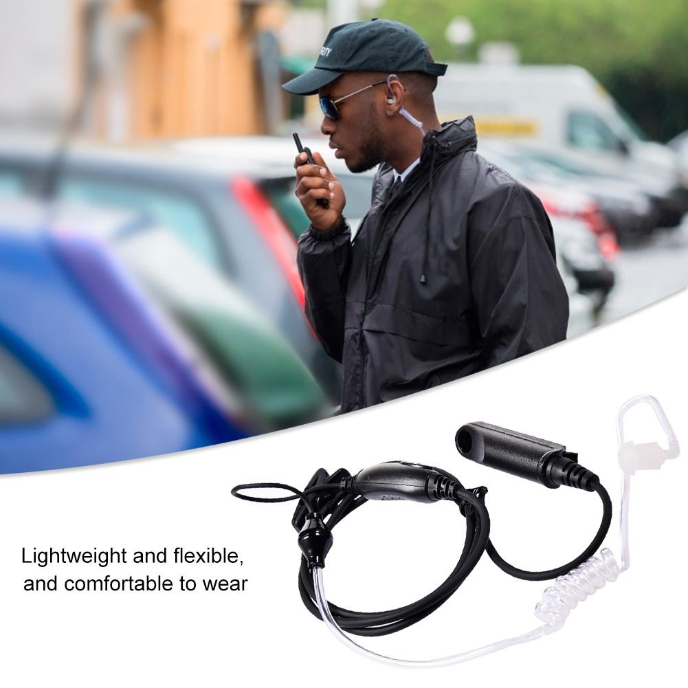 Two Way Covert Air Acoustic Tube Headset Earpiece For Baofeng UV-XR UV-9R PLUS GT-3WP UV-5RWP UV-5S A58 BF-9700 RETEVIS RT6